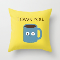 Christmas gifts for coffee lovers - cushion