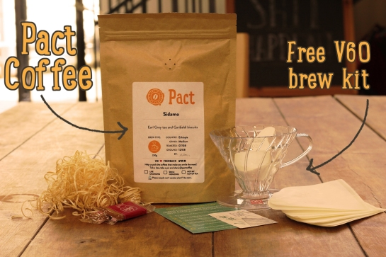 Try Pact And Get A Free Coffee Making Kit With This Voucher