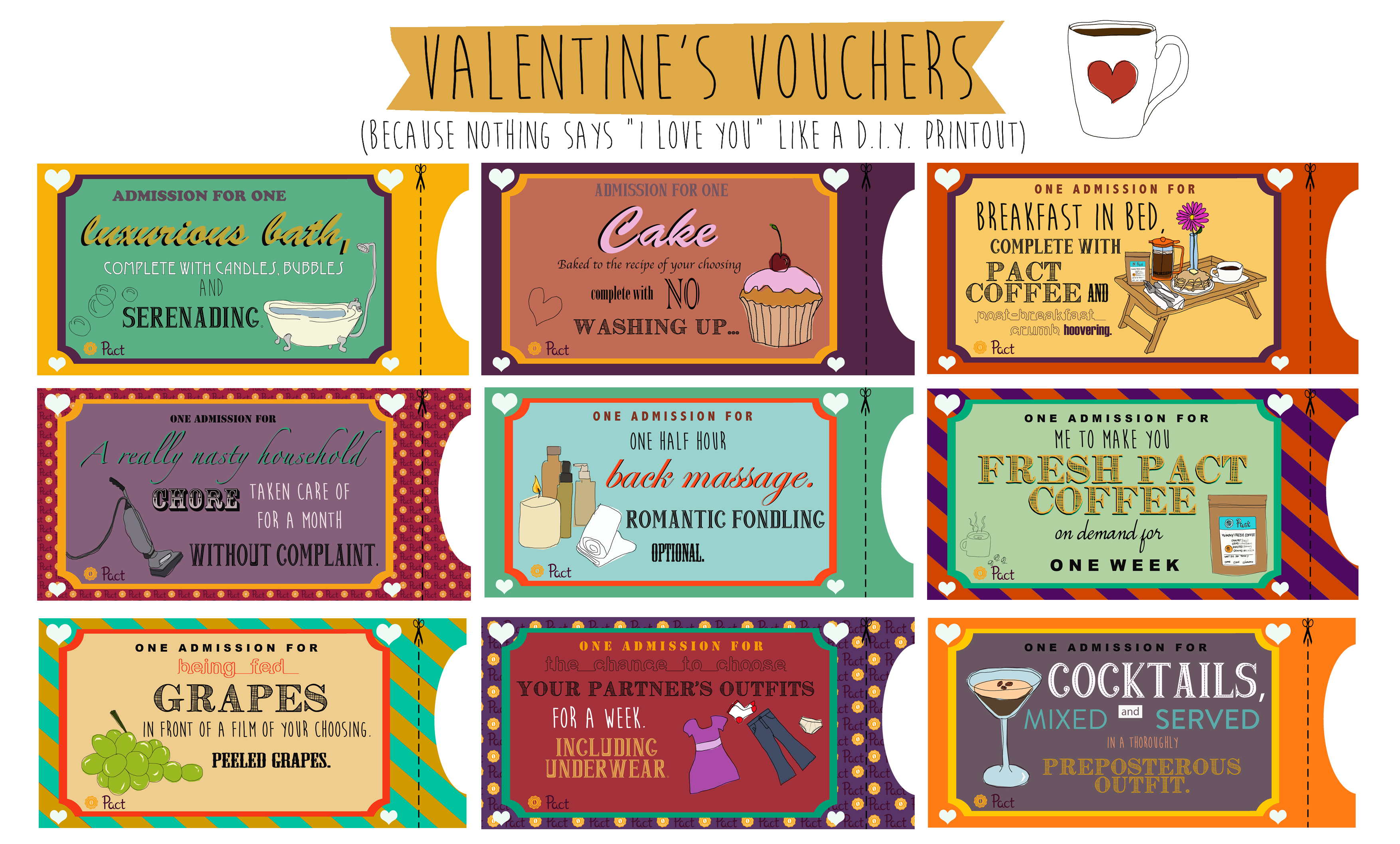 Free Vouchers For Your Valentine Pact Coffee Blog