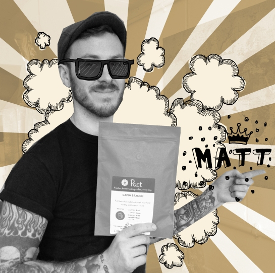 Pact Coffee Packing Matt