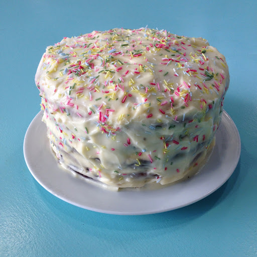 Rainbow birthday cake recipe
