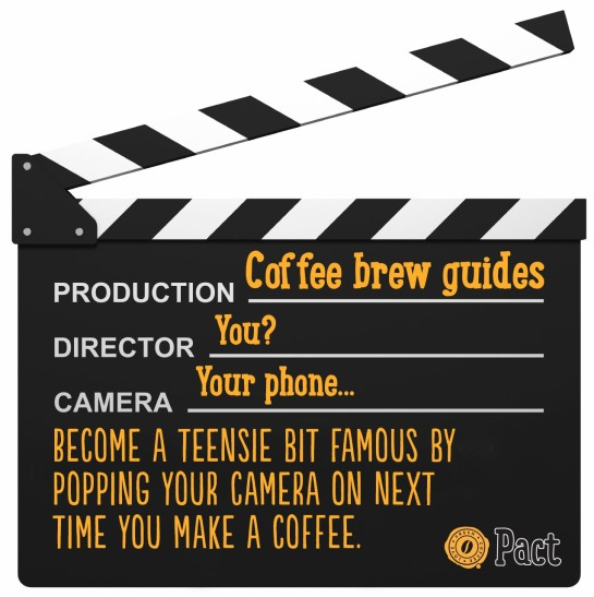 Video Coffee Brew Guides