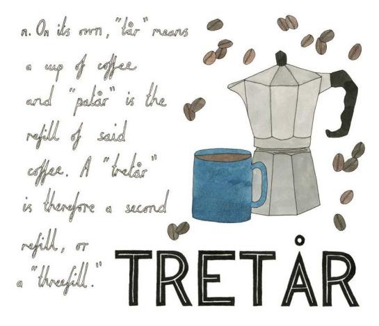 Coffee, Tretar