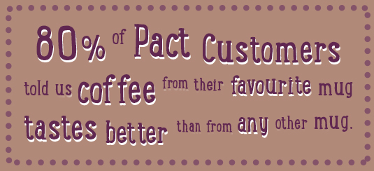 Pact Coffee fact